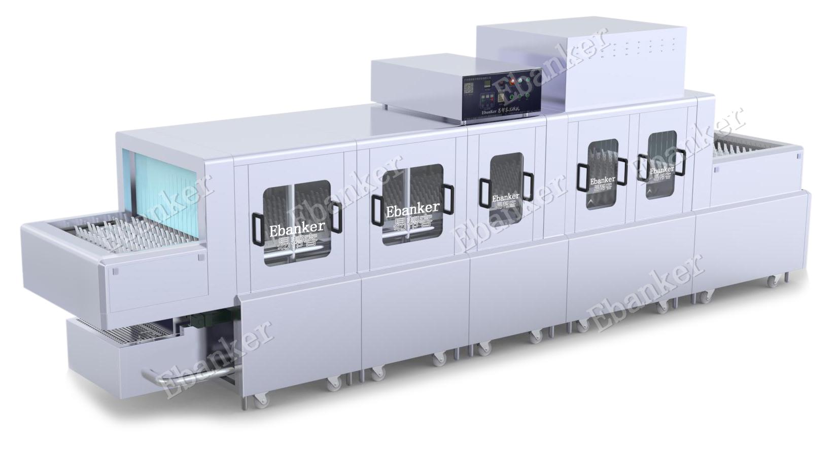 【EB222】两洗两漂两烘6.2米长龙式商用洗碗机